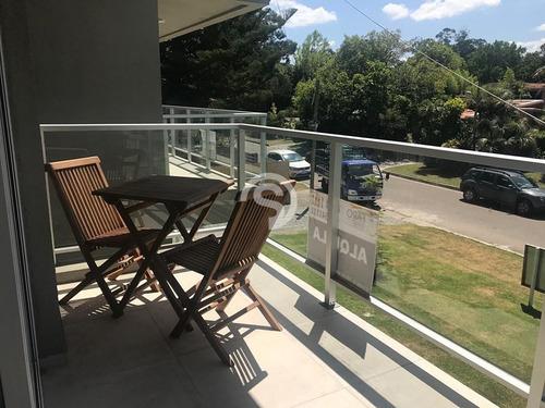 Apartamento A Estrenar En La Mansa 1 Dormitorio Con Parrillero- Ref: 3805