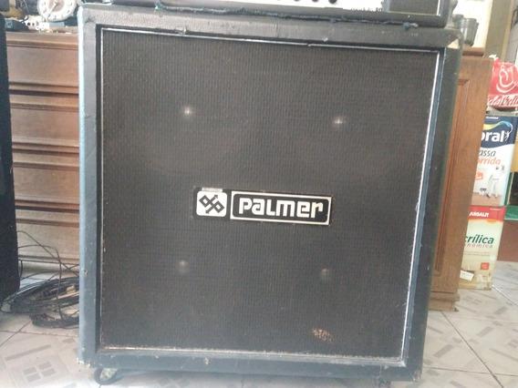 Caixa De Som Palmer Com 4x12 Falantes Novik Antigos Raridade