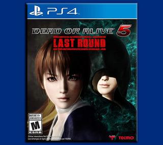 Dead Or Alive 5 Ps4 Last Round Disponible
