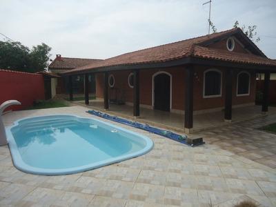 Casa A 450 Metros Da Praia - Bal. Grandesp - Ref. 702