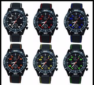 Reloj Pulsera Hombres Diseño Deportivo Gt Por 5 Unidades
