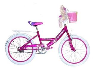 Bicicleta Topmega Princess Rodado 20 Niña