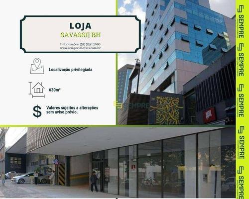 Imagem 1 de 7 de Loja Para Alugar, 630 M² - Savassi - Belo Horizonte/mg - Lo0053