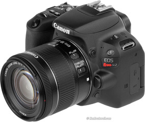 Câmera Canon Eos Rebel Sl2 Ef-s 18-55mm Is Stm
