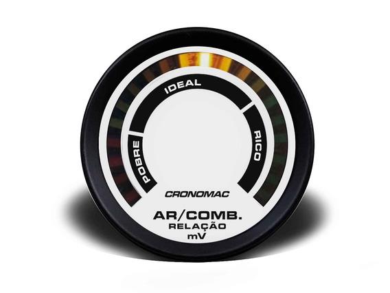 Hallmeter Comum Cronomac Street Branco 60mm