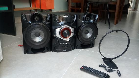 Mini System Samsung Giga Sound Blast Mx-f630 - Ótimo Estado