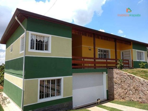 Chácara Em Araçoiaba No Bairro San Conrado-sp - Ch0190
