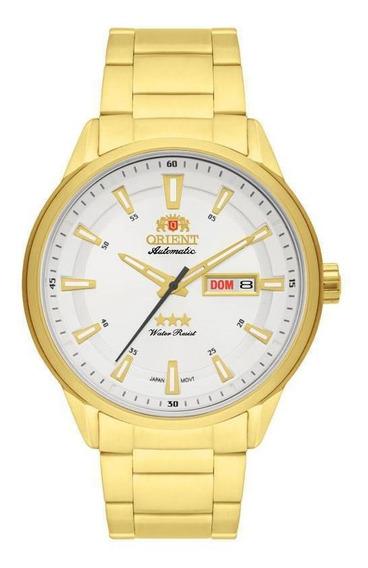Relógio Orient Analógico Automático 469gp065 Dourado