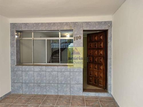 Imagem 1 de 22 de Sobrado Com 2 Dormitórios Para Alugar, 90 M² Por R$ 1.500,00/mês - Jardim Mangalot - São Paulo/sp - So3096
