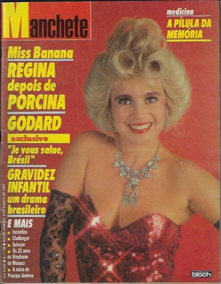 8/3/1986 Revista Manchete Nº 1768 Atriz Regina Duarte