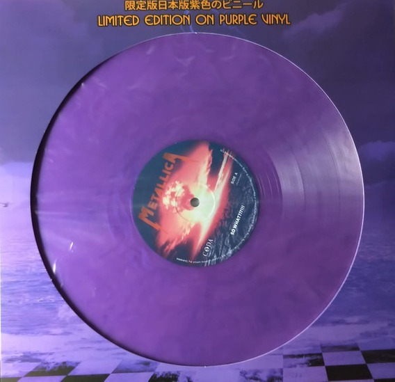 Lp Metallica - So What???!!! ( Japan Purple Vinil ) Lacrado