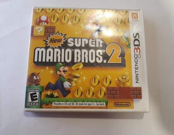 Jogo 3ds New Super Mario Bros 2