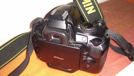 Nikon D5000 11k Cliks Lente Cabos Cartão De Memória Em 12 S