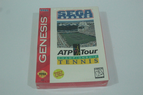 Jogo Tennis Atp Tour Mega Drive Original Americano Lacrado