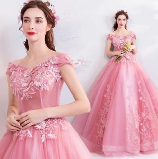 Vestidos Xv Quince Años 15 Promo Oferta Sale Rojo Rosa Wal