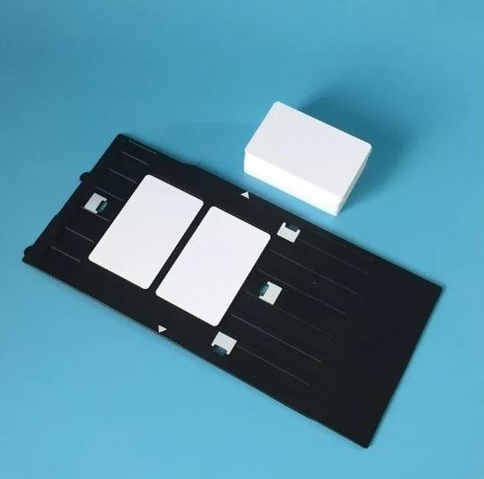 Bandeja + 30 Cartões Pvc Epson T50 L800 L805 R290 R270 R280
