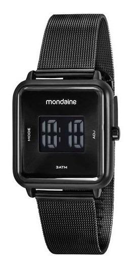 Relógio Mondaine Feminino Digital Preto 32007mpmvpe1