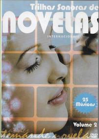Dvd Trilhas Sonoras De Novelas (internacional)25 Músicas V.2