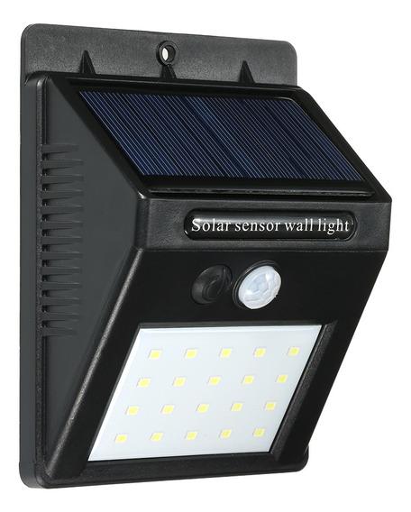 3*luces De Pared Solares Del Sensor, 20led Impermeabilizan E