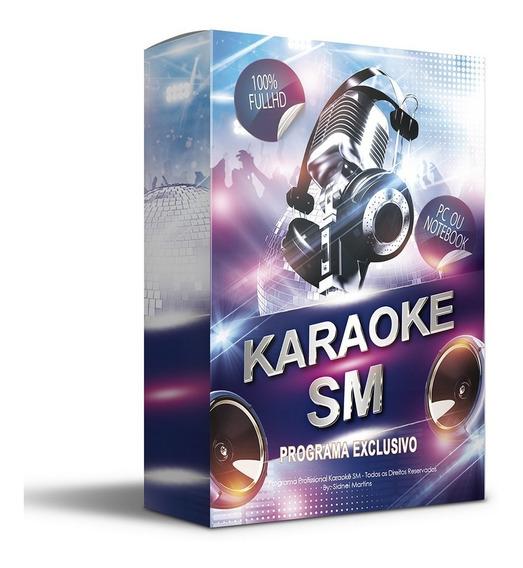 Karaokê Full Hd Profissional P/pc Com + De 10.700 Músicas