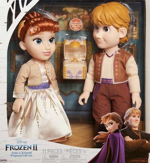 Anna Y Kristoff Set De Boda Frozen Ii 20146