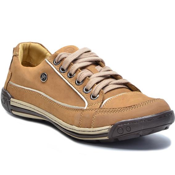 Sapato Sapatênis Casual Em Couro Porshe Bmbrasil 114/04