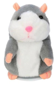 Pelucia Hamster Repete O Que Escuta Hamster Falante