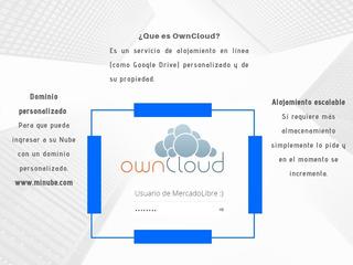 Nube De Almacenamiento (owncloud) Ilimitado