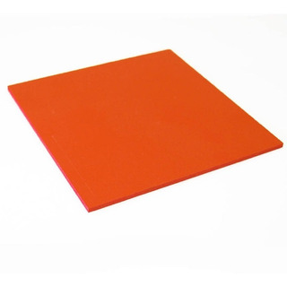 Manta Termica De Silicone 20x10cm Com 10mm De Espessura