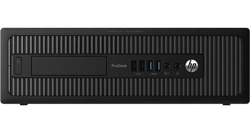 Computador Cpu Hp Prodesk Core I5 4gb 500gb - Promoção