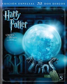 Blu-ray - Harry Potter Y La Orden Del Fenix - 2 Discos