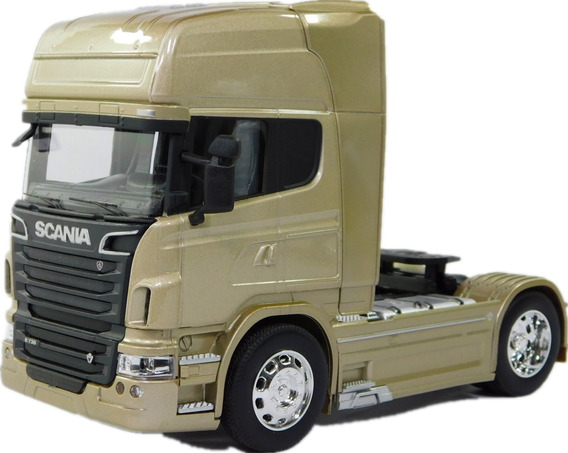 Miniatura Carreta Caminhão Scania V8 R730 Escala 1:32