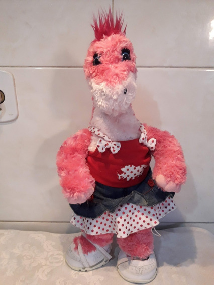 Pelúcia Dinossauro Rosa Build - A Bear