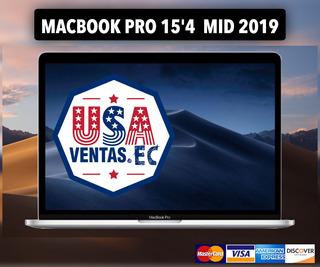 Macbook Pro 15 Touch Bar Intel I7 9na 16gb 256 Ssd 4gb Nueva