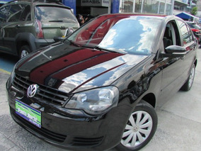 Volkswagen Polo Sedan 1.6 Vht Total Flex 4p 2013 Preto