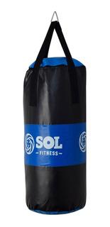 Sol Fitness Bolsa De Box 70 Cm Reforzada Boxeo Profesional