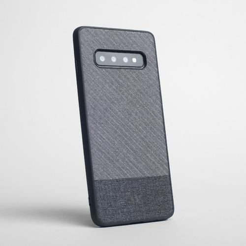 Funda Walden® Alcantara Tela Jean Denim Galaxy S10 Samsung Original