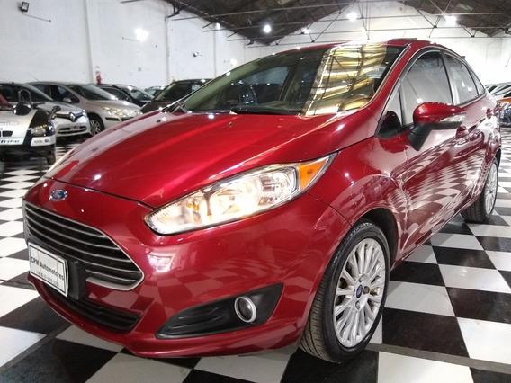 Ford Fiesta Kinetic Titanium 1.6 S 2013 Bordo Lm