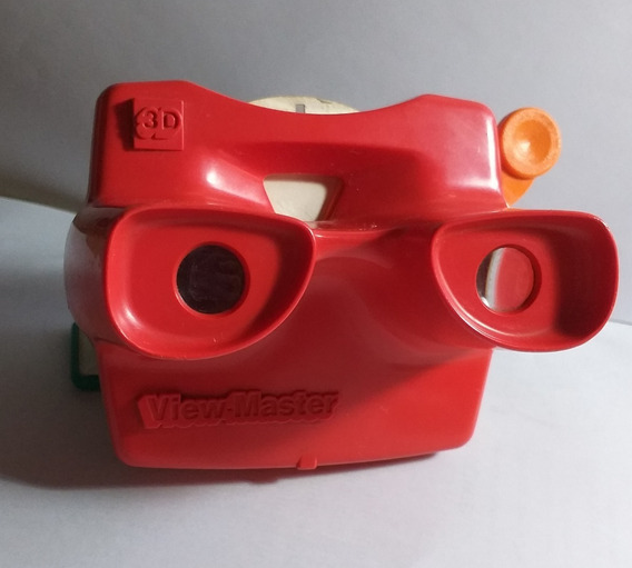 Brinquedo Antigo Binóculo View-master 3 D Made In Usa Disney