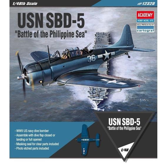 Maqueta Avion Usn Sbd-5 Academy 1/48 Supertoys