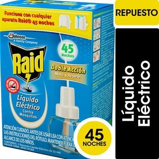 Raid Líquido Eléctrico Mosquitos Repuesto - 6 Unidades