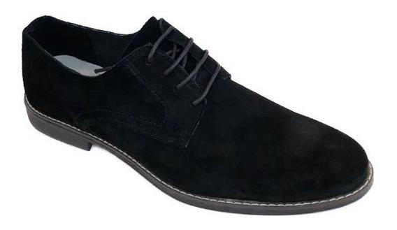 Zapato Hombre Gamuza Cuero // Marca Agta
