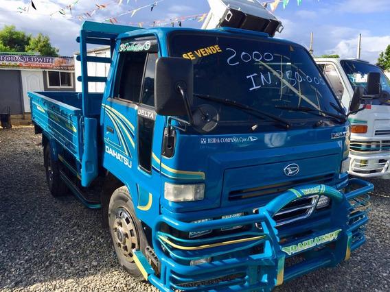 Super Oferta Camion Daihatsu Delta 2000 Cama Cortta