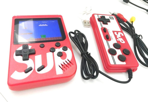 Mini Consola Portatil Game Box 400 Video Juegos + Control