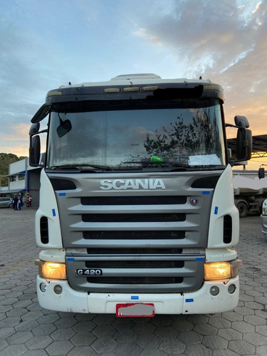 Scania G 420 6x2 2010 Único Dono Revisado