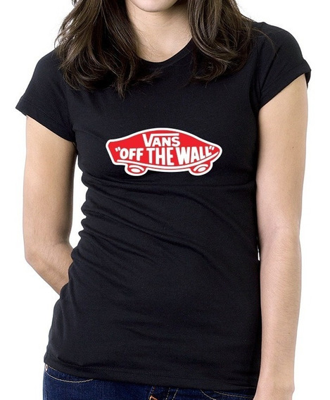 Playera Vans Of The Wall Mujer Oferta