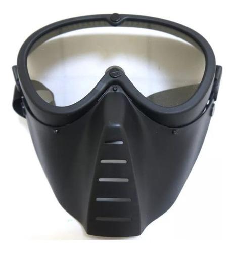 Imagen 1 de 6 de Mascara Táctica Airsoft Junxing Proteccion Fm-2