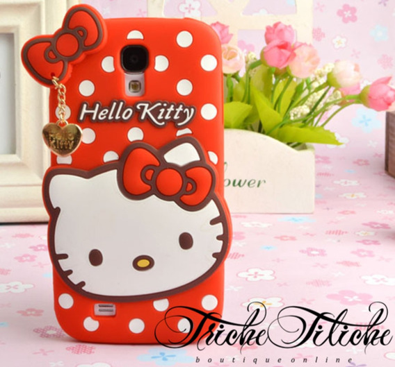 Funda / Botarga Hello Kitty Para Xperia M4 Aqua