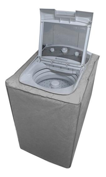 Capa Máquina Lavar Roupas Brastemp Ative 11kg Zíper Grossa