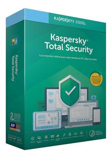 Kaspersky Total Security / 1 Dispositivo / 3 Años / Renovaci